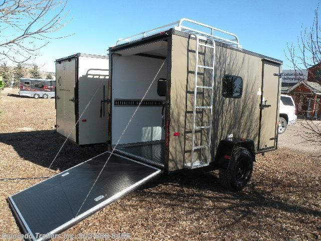 13398 2017 Cargo Craft 6x12 Off Road Cargo Trailer For Sale In Castle Rock Co Cargo Trailers Enclosed Trailer Camper Cargo Trailer Camper