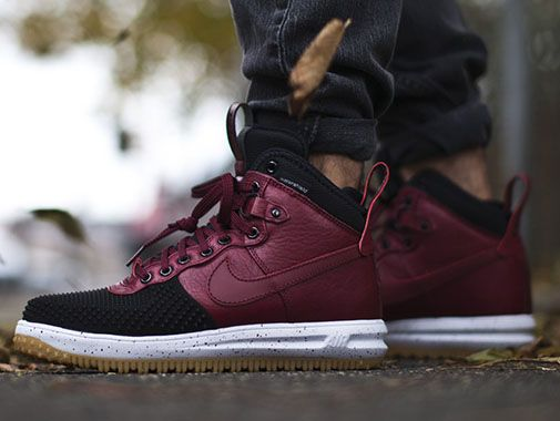 "Nike Lunar Force 1 Duckboot ""Team Red"" 