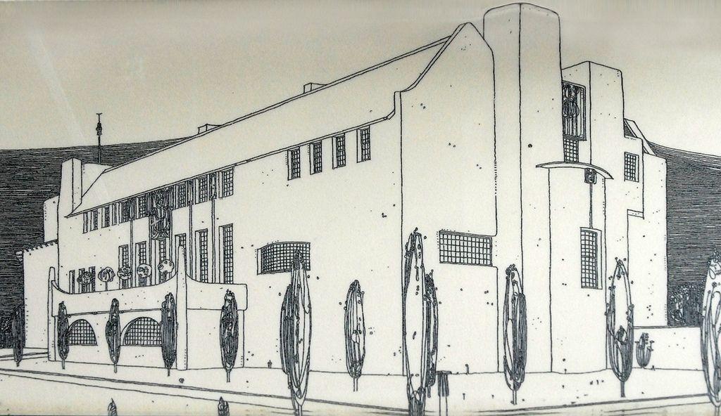 Le dessin de Mackintosh de la