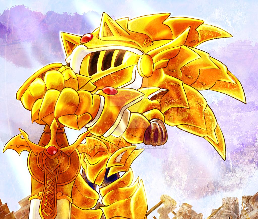 Excalibur Sonic By Halfway To Insanity Sonic Sonic Art Hedgehog Art