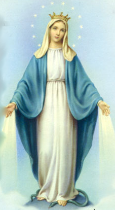 Ourladyofgrace Png 227 414 Blessed Mother Mary Blessed Mother Mama Mary