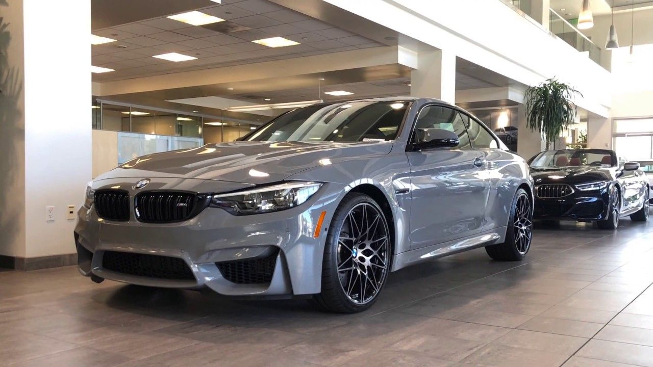 2020 Bmw M4 Coupe Nardo Grey Walk Around With Images Bmw M4