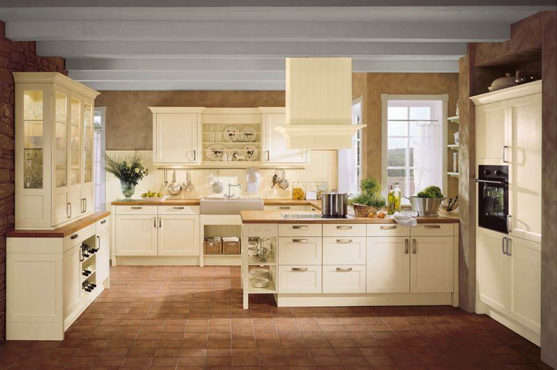 Häcker Küchen: Bristol Vanille #Landhausstil | Küche Landhausstil ...