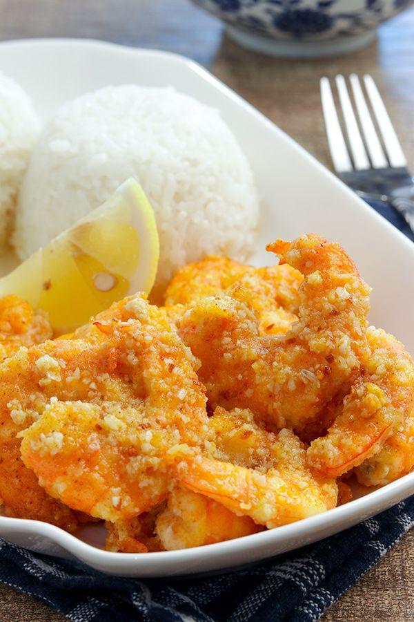 Photo of Giovanni's Hawaiian Food Truck Garlic Shrimp Recipe