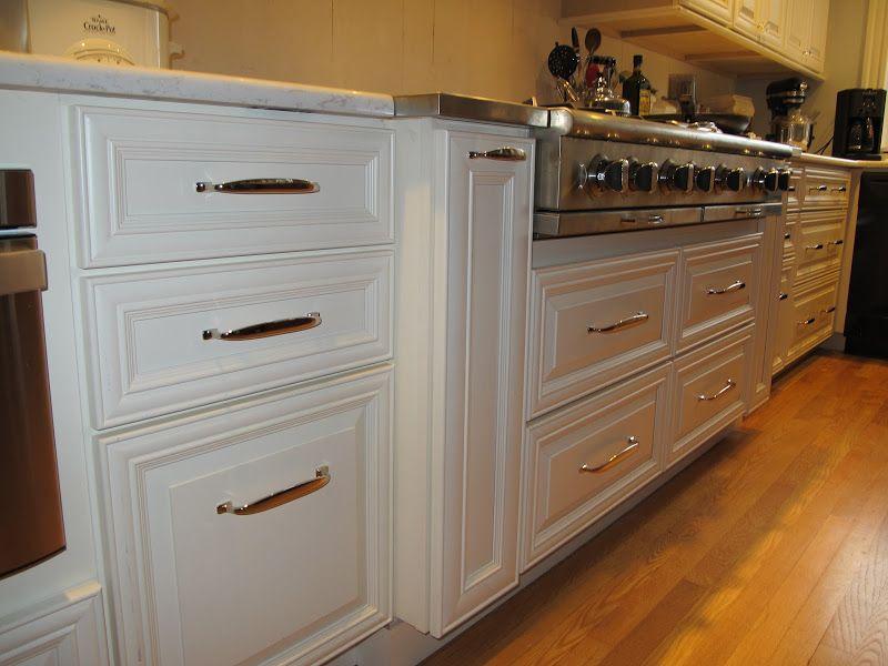 Kitchen With Restoration Hardware Bistro Pulls