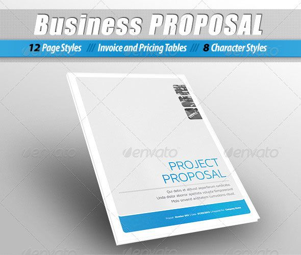 design commercial proposal - Поиск в Google c o v e r s - project proposal template free