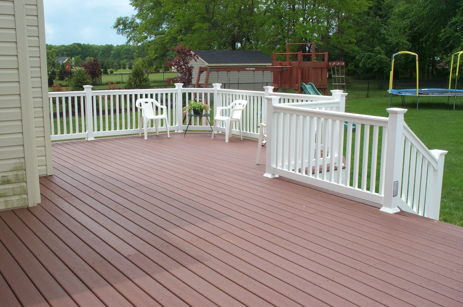 Is trex or other composite the way to go when building a for Building a composite deck