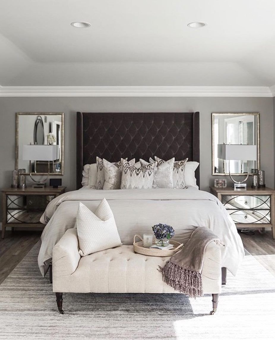 Luxury Apartment Bedroom: Stunning Master Bedroom Design By @janankissler ..loving