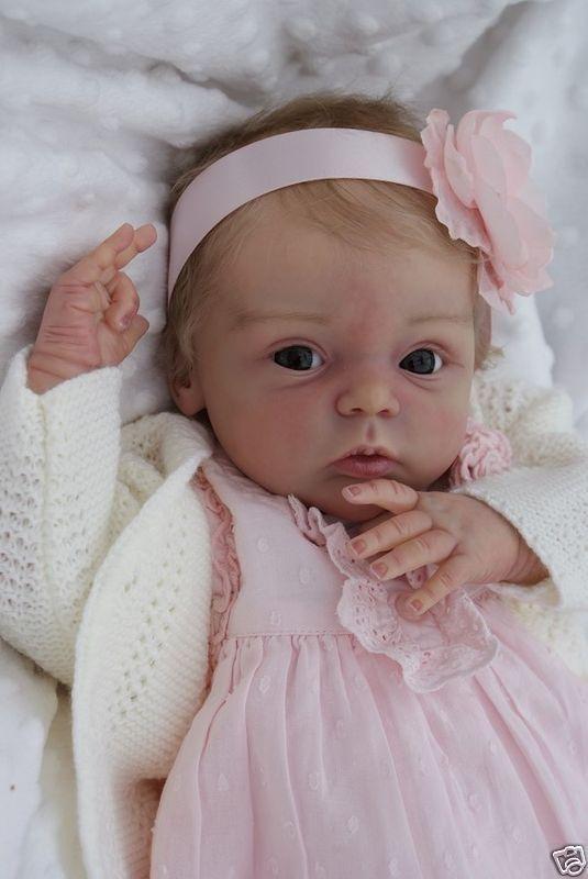 A cute reborn doll!