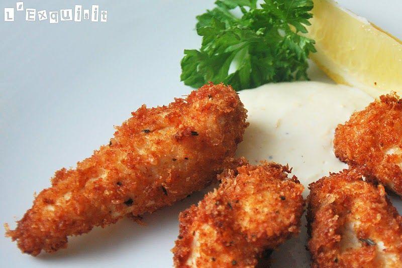Pollo al parmesano y romero con salsa de lim n carnes pinterest chicken lemon chicken y - Salsa de pollo al limon ...