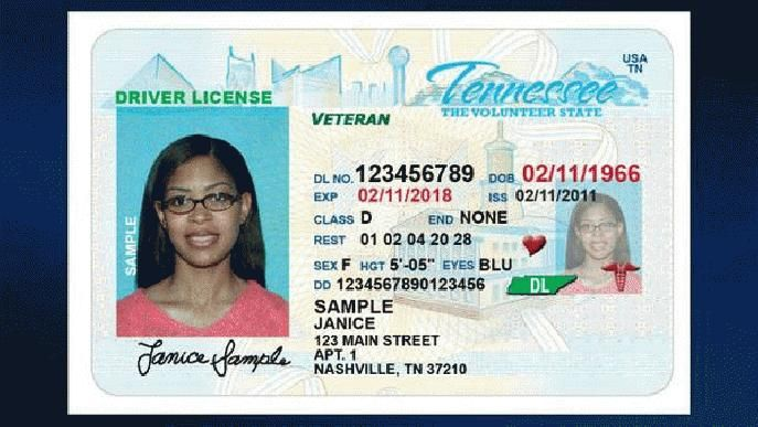 new feature for #tn driver's licenses could help save lives - driver