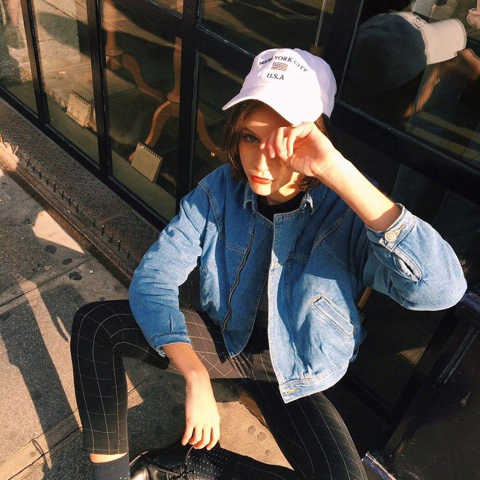 Alizée Gamberini - Brandy Melville Usa Total Look - Mandarine