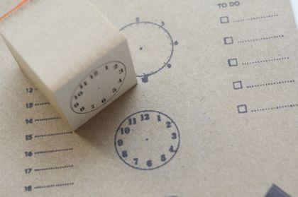 ハンコ 時計 Sの商品写真