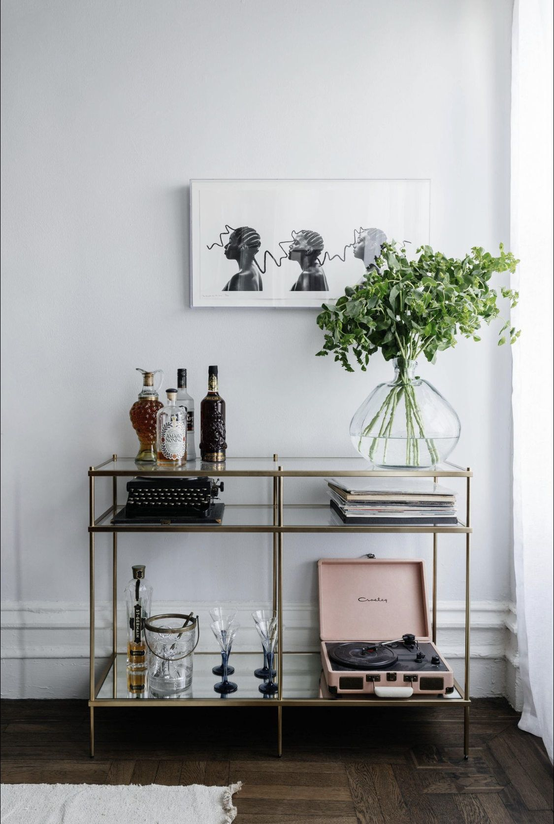 Photo of Modern Meets Organic in the Brooklyn Apartment of Delia Kenza's 'Bad Ass' Client – Remodelista