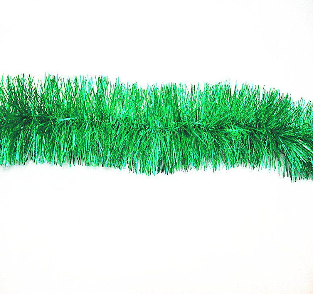 M Xmas Party Decoration Garland XmasTree Decor Chunky Pale Green Tinsel 2