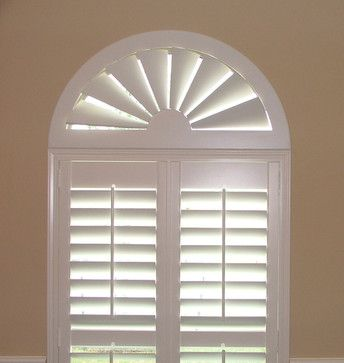 Arch Window Eyebrow Window Blinds And Shades Houzz With Images