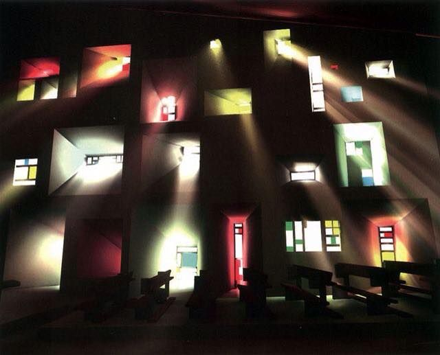 Le Corbusier | Light architecture, Le corbusier, Sacred ...