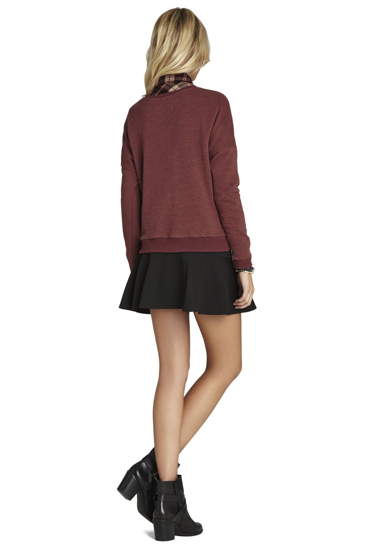 Bow-Tie Long-Sleeve Pullover | BCBGeneration