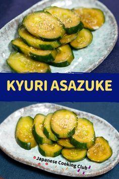 Kyuri Asazuke #japanesefood #japanesecooking #japanesecuisine #appetizer #sidedish #pickled #cucumber