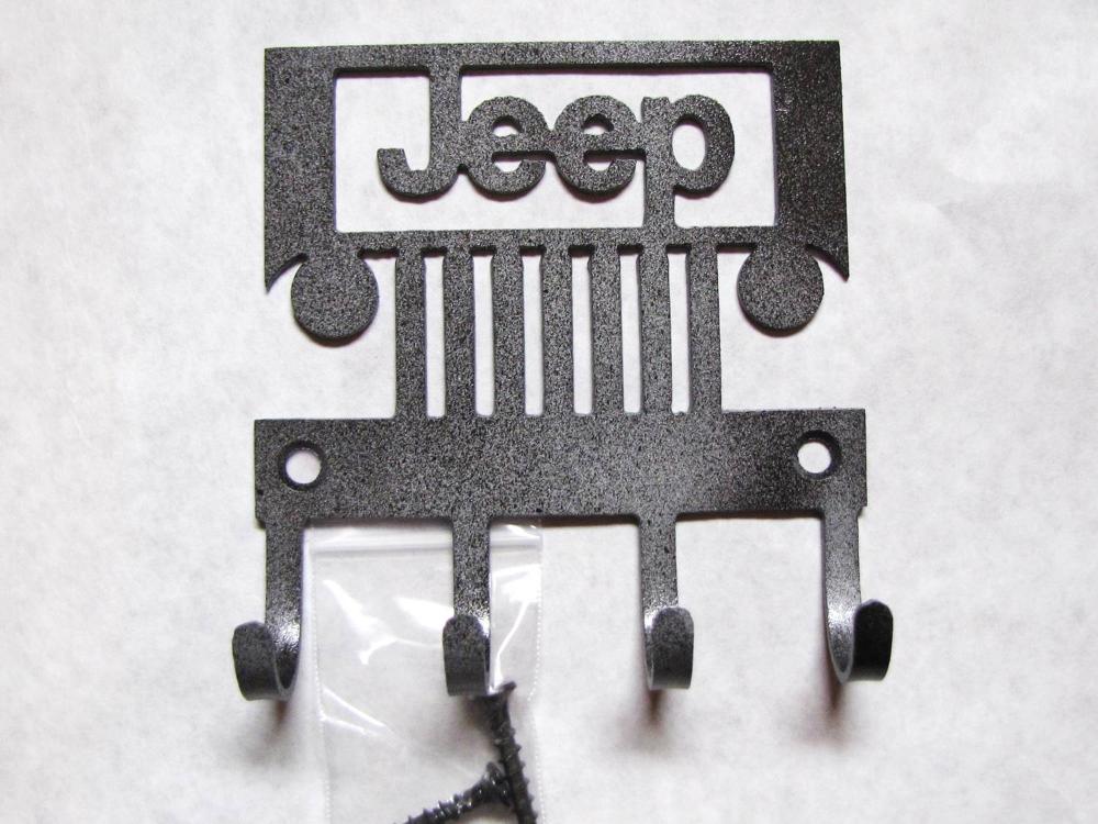 Jeep Metal Wall Hooks Designs By Kennedy Metal Wall Hooks Jeep Gifts Wall Hooks