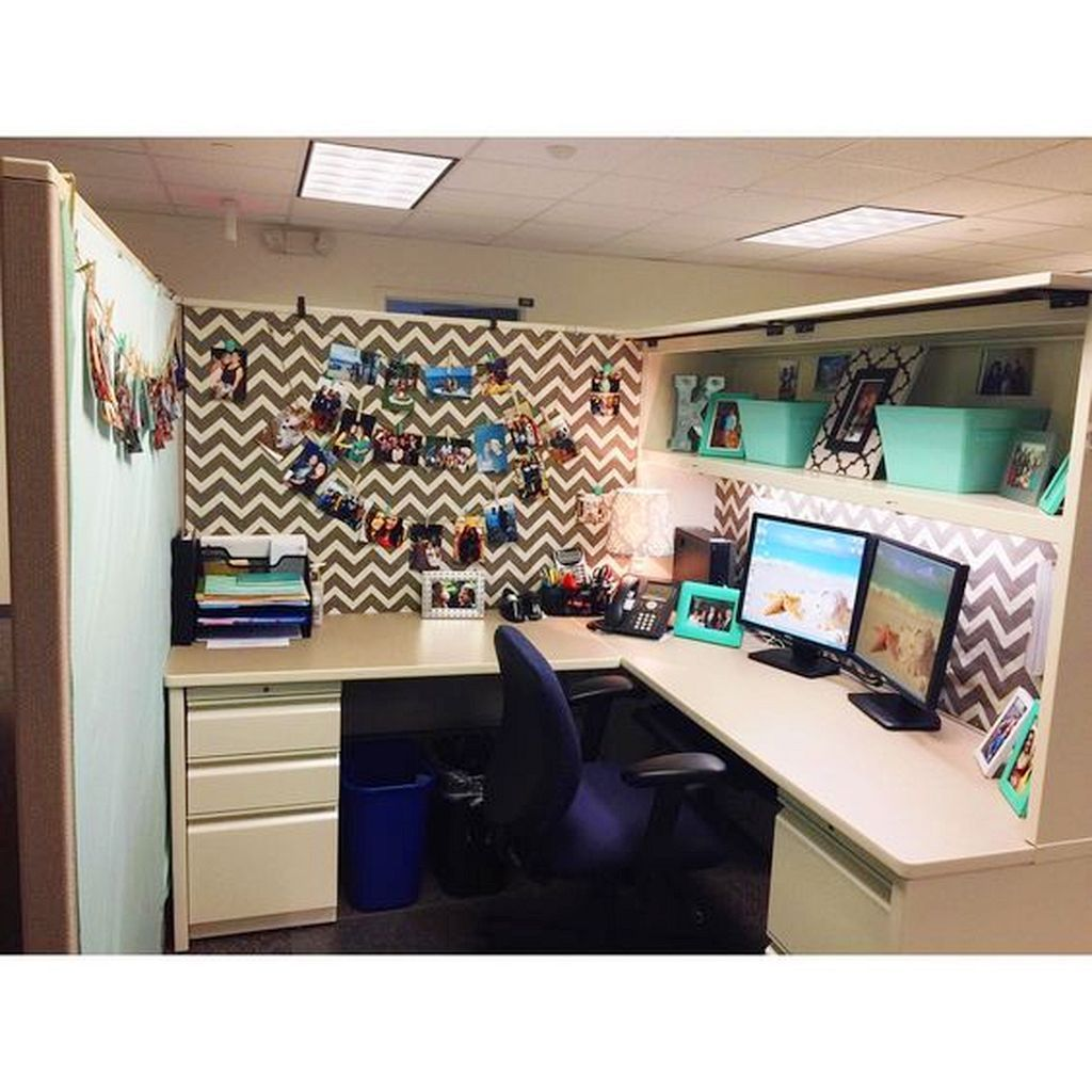 20 Best Office Cubicle Decor Ideas For Fun Environment Cubicle