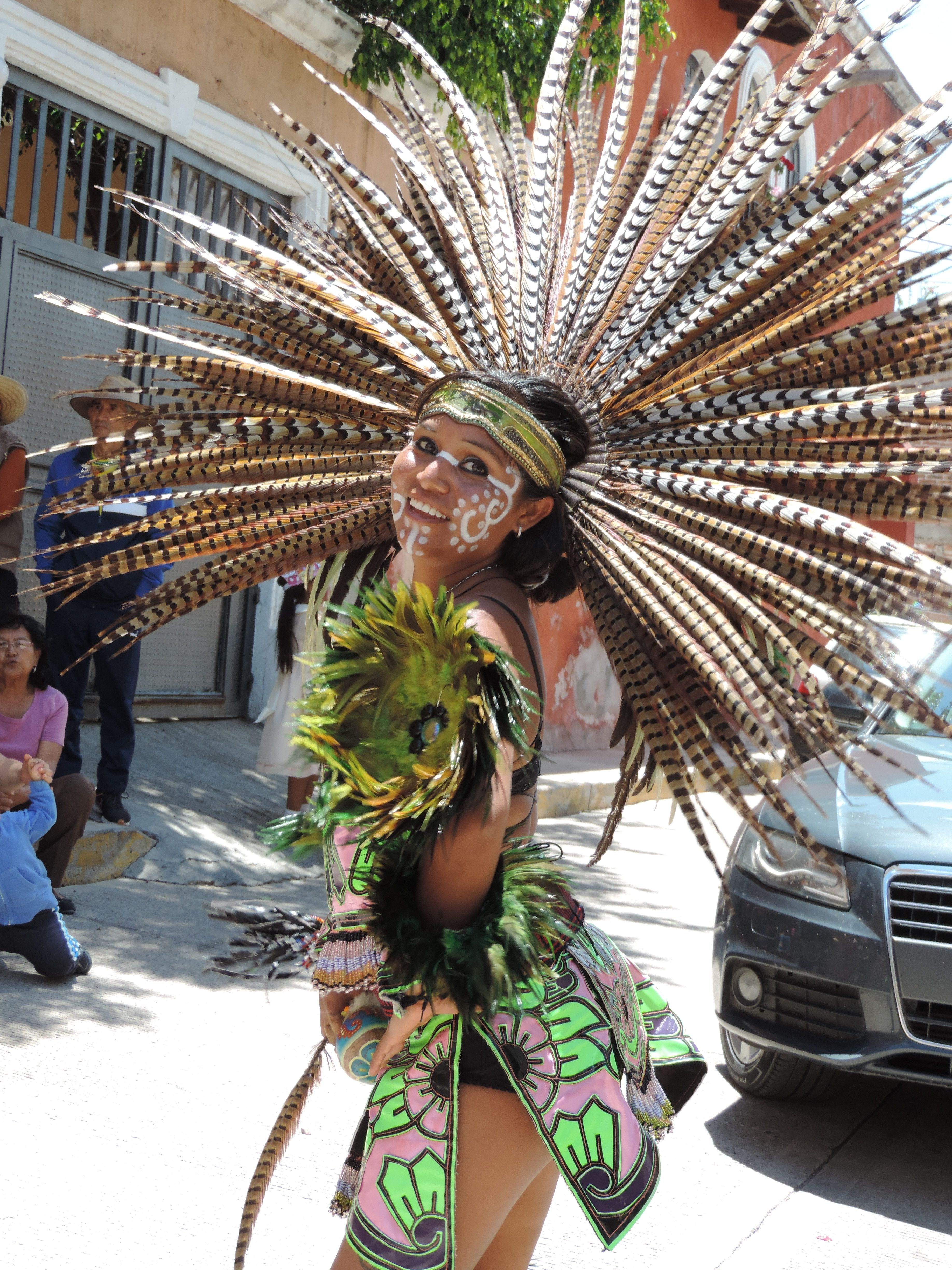 F A Befde F B B A on Aztec Dancer In Mexico
