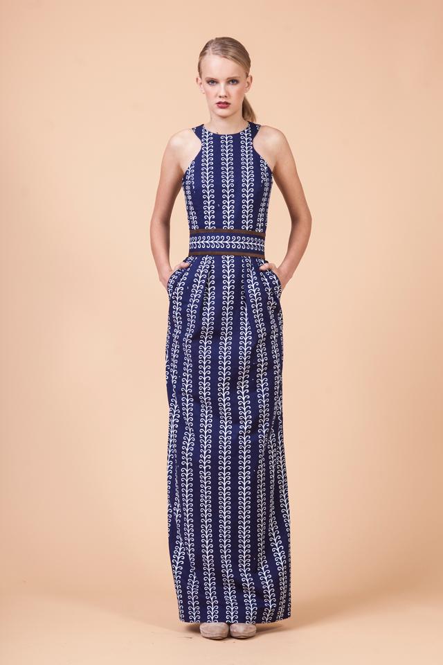 09ddc632275a Blueprint dress by Jana Gavalcova Indigo