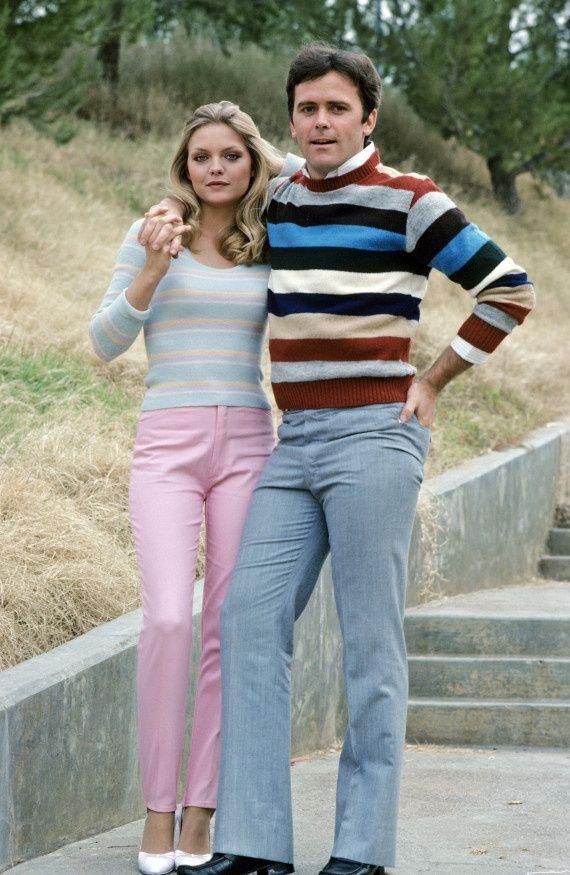 Michelle Pfeiffer and Tony Danza
