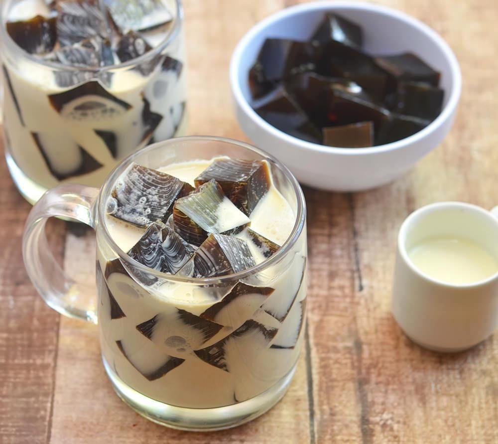 HowtomakeEasy Coffee Jelly Recipe Coffee jelly, Jelly