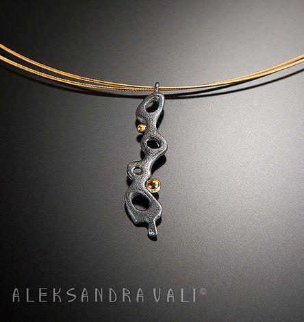 Necklaces by jewelry designer Aleksandra Vali | Silver ...