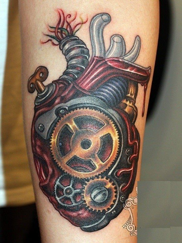 Biomechanical Tattoos For Men Steampunk Tattoo Biomechanical Tattoo Picture Tattoos