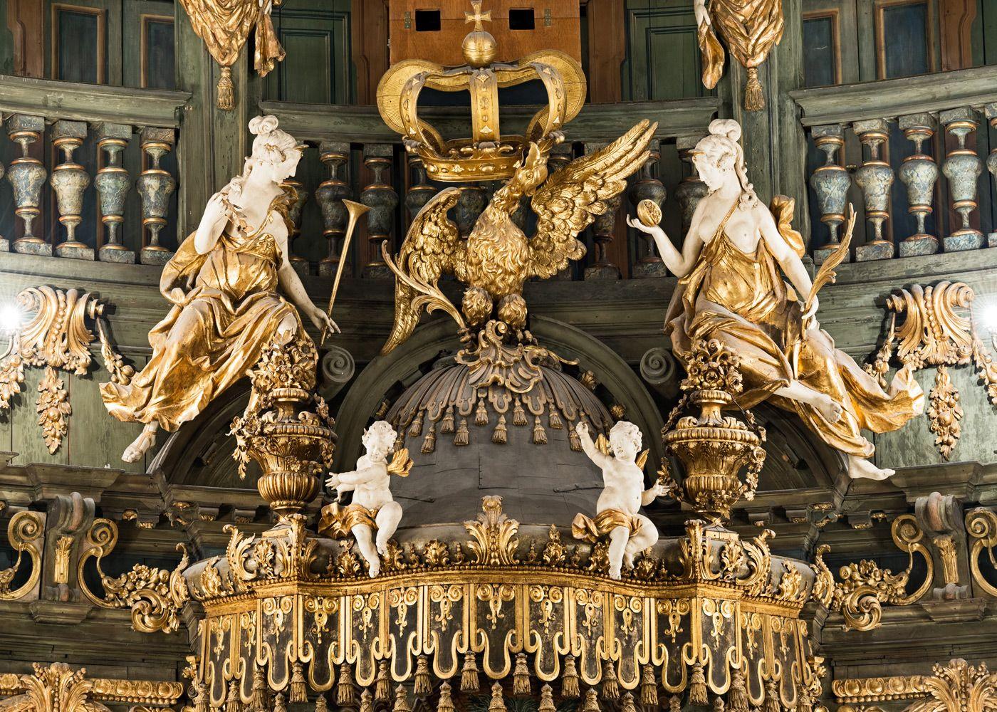 Zur Bildergalerie | Historia, Fresco, Cielo