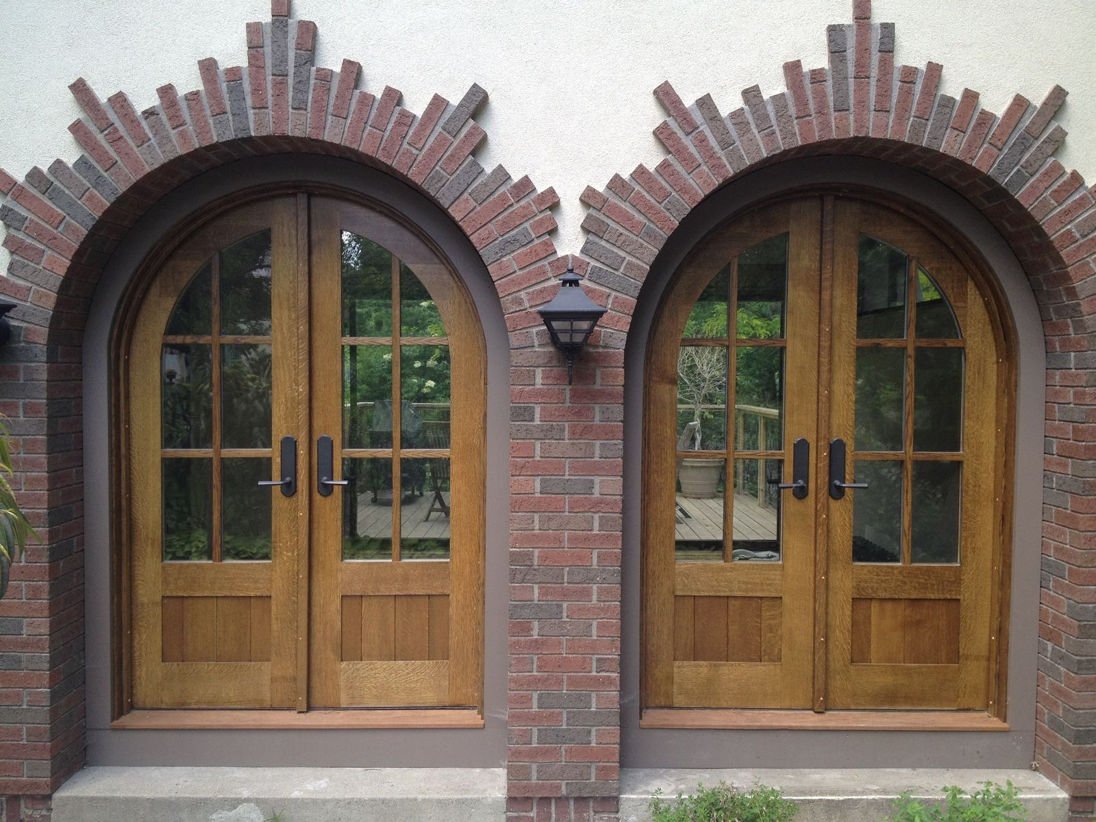 Before And After Our New Front Door Exterior Door Trim Front Door Trims Exterior Front Doors