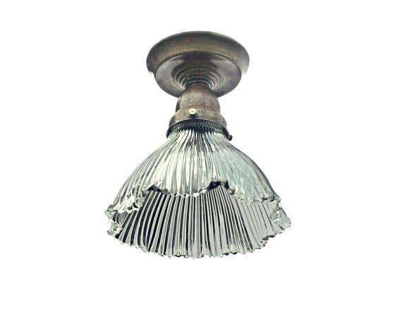 Old Ceiling Light For Bathroom Or Floor Lamp Antique Vintage