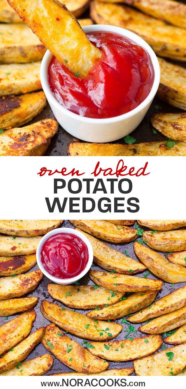 Oven Baked Potato Wedges Recipe