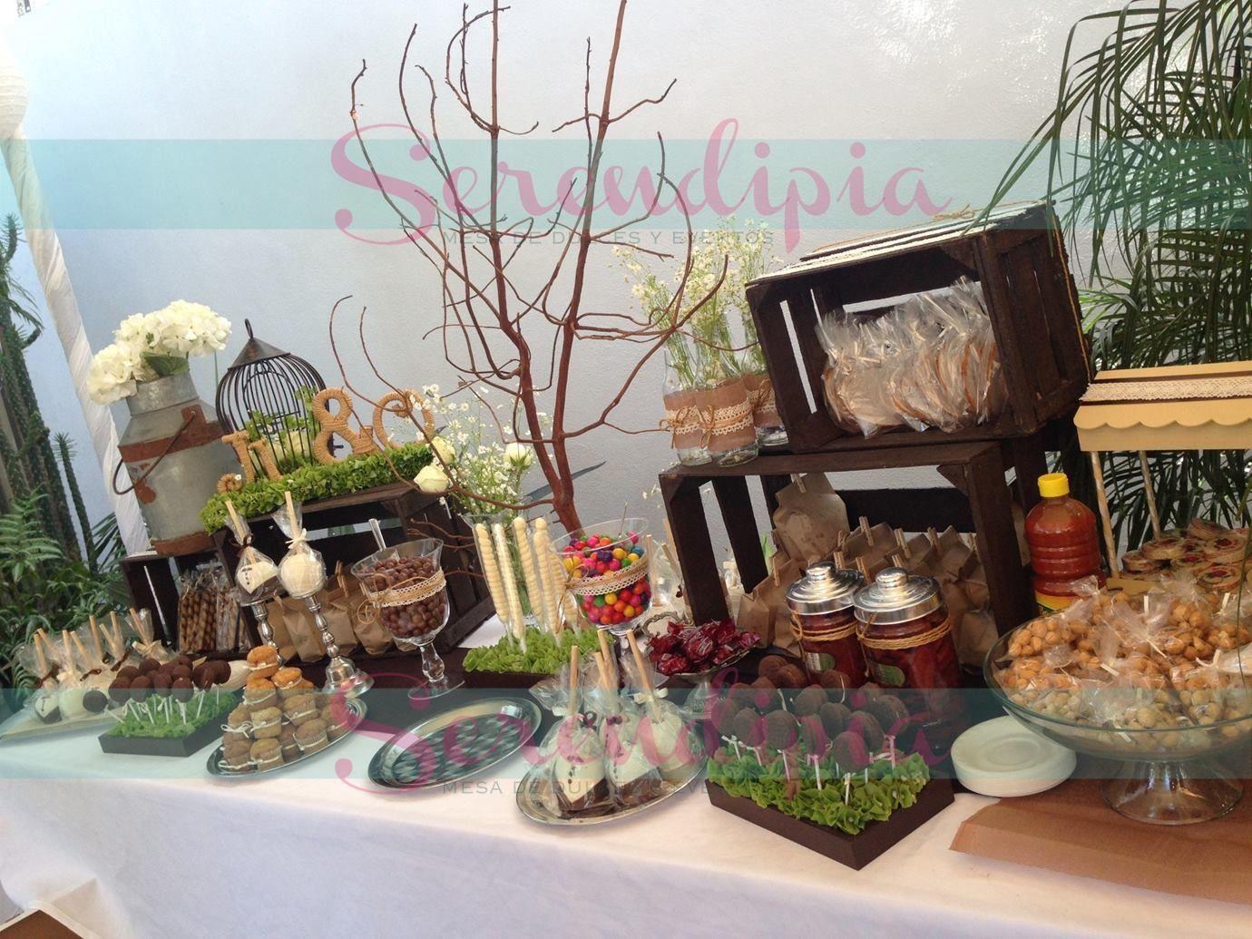 Mesa de dulces boda mesas de dulces pinterest bar for Casa jardin buffet