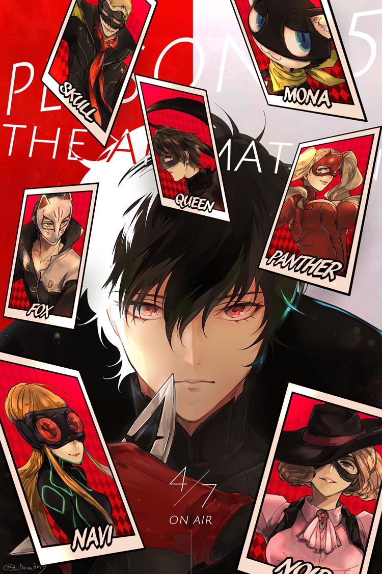 今井(腐向け) on Persona 5 joker, Persona 5, Persona