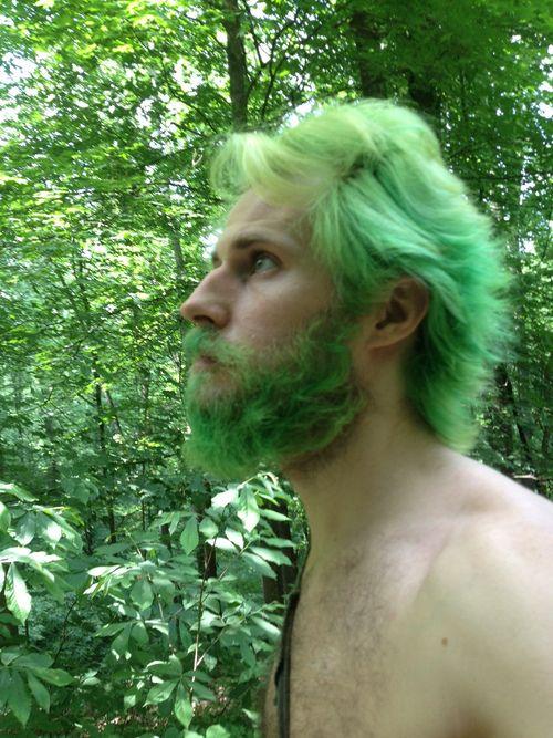 Мужики с зелеными волосами фото