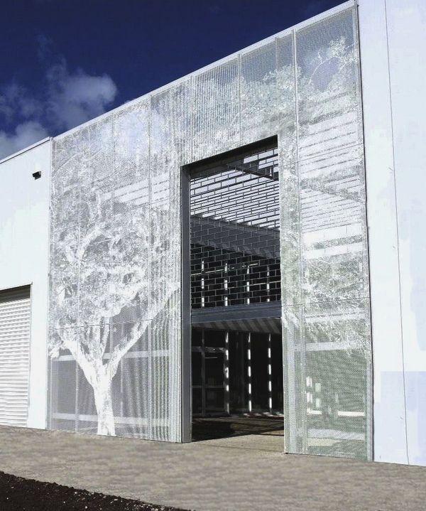 decorative metal panels perforated sheet metal exterior design ideas