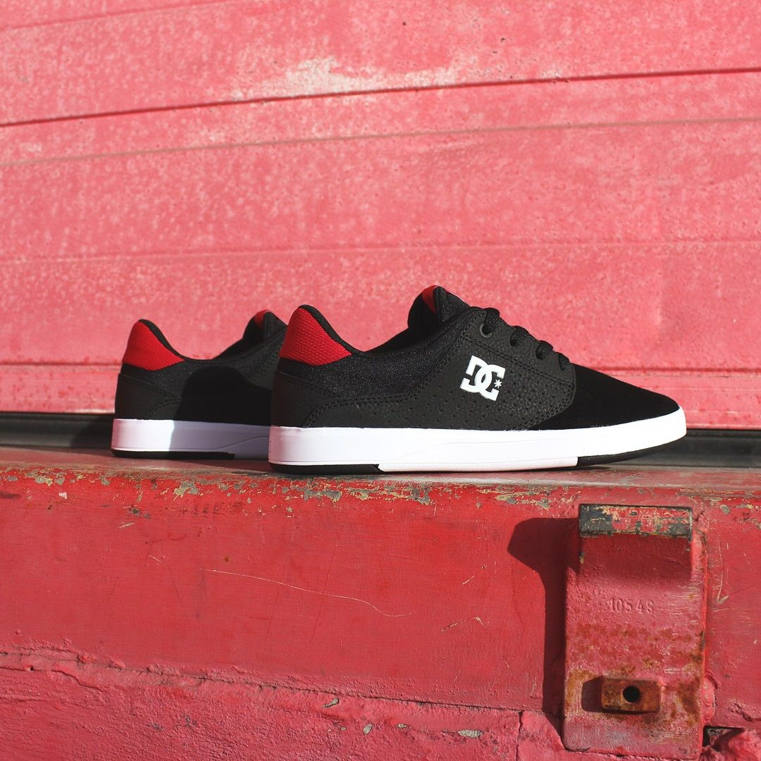 faa77ee0432c1 DC Plaza TC S Black Athletic Red   Shoes   Shoes, Black, Athletic