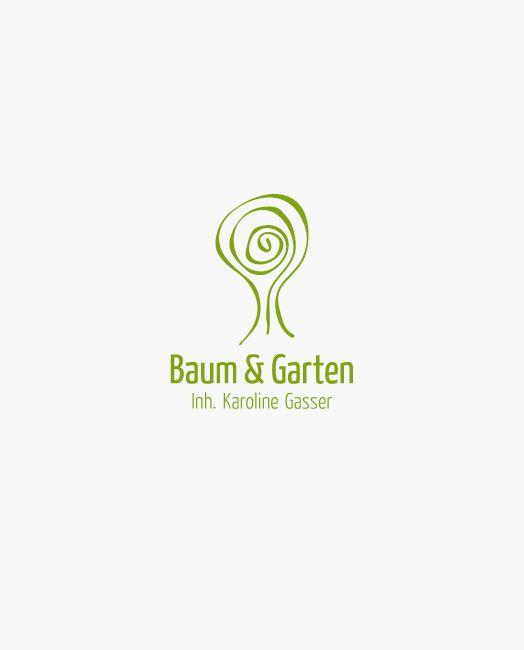 Baum Und Garten logo baum und garten logos design web and business cards