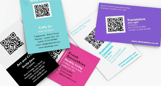 Qr code business cards promote your online portfolio or internet qr code business cards promote your online portfolio or internet business with a qr business card use our qr code creator to generate your own unique reheart Choice Image