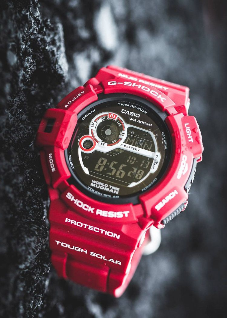 G-Shock G9300 Red G Shock Watches 329dcff690