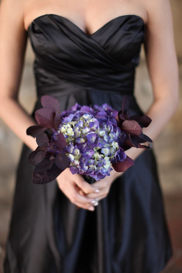 love this unique bouquet from Jess & Jeff's offbeat Richmond VA wedding