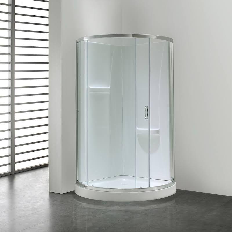 Corner Round Shower Stalls Corner Shower Kits Acrylic Shower Enclosures Shower Enclosure