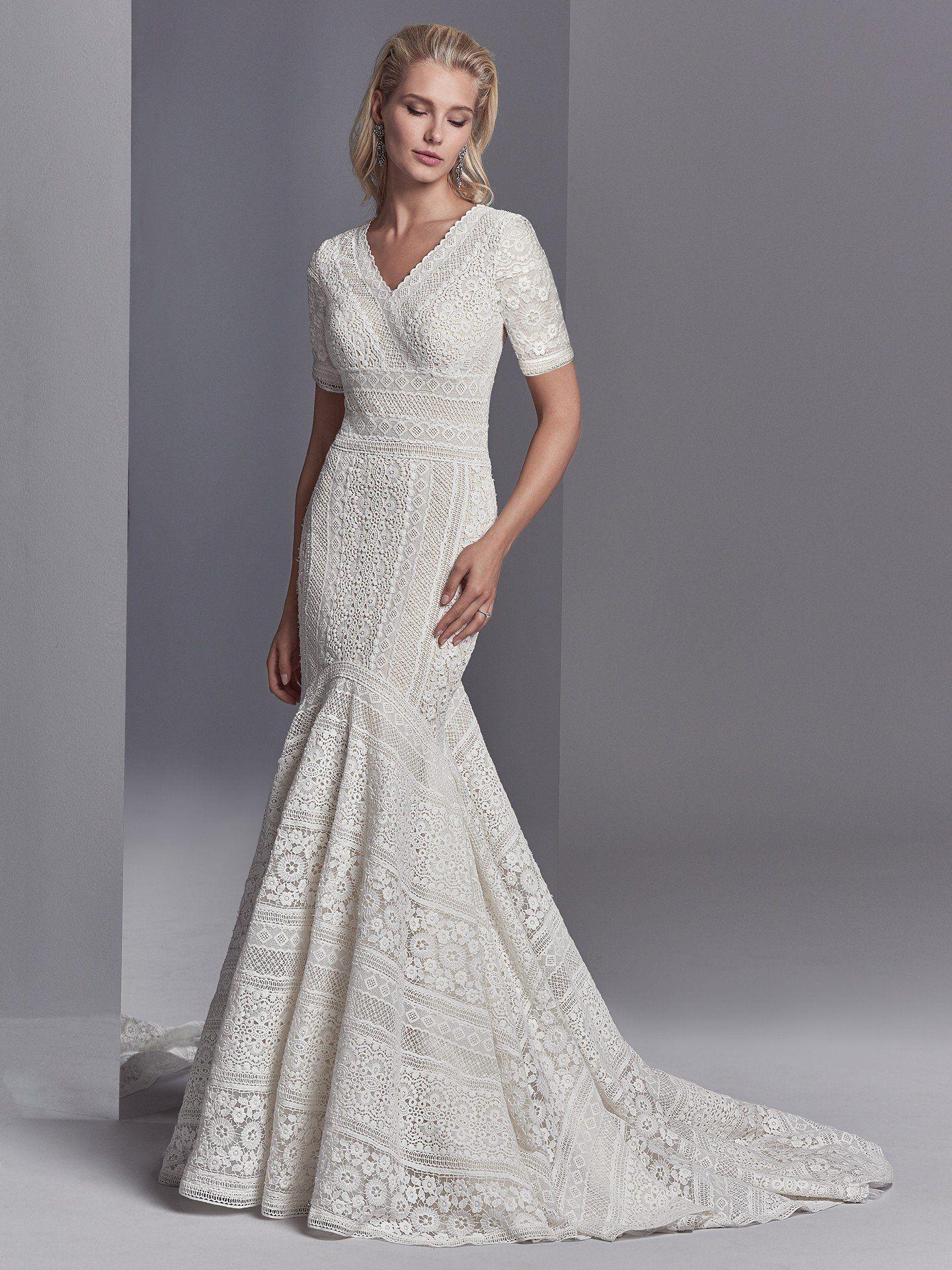 Eyelet wedding dress  Maggie Sottero Wedding Dresses  Maggie sottero Eyelet lace and