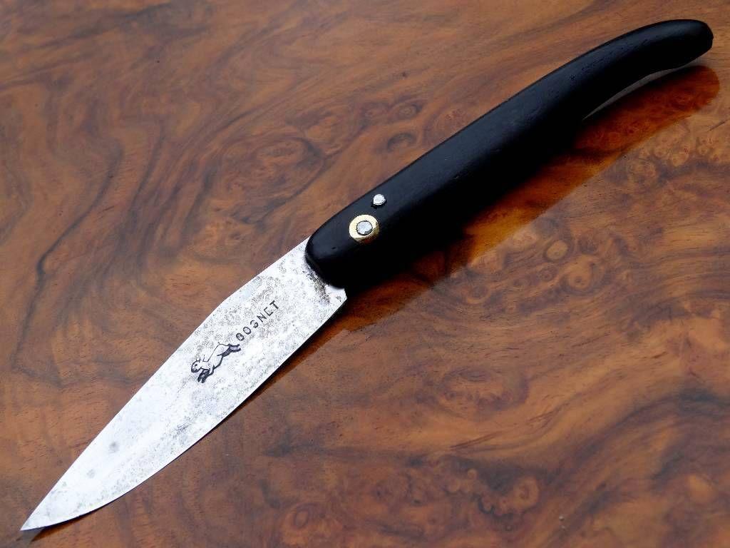 Rare Ancien Couteau Regional Capucin Yatagan Cognet Lievre 1900 Ebay Couteau Capucin