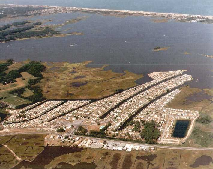 Treasure Beach Rv Park And Bayfront Campground Located One Mile West Of Fenwick