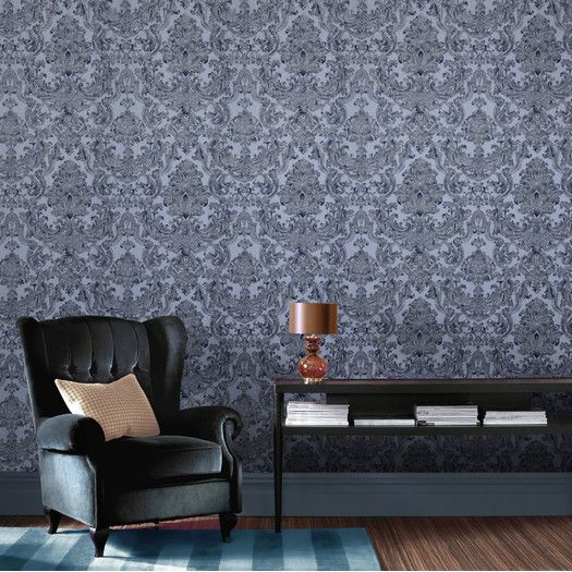 Graham Brown Verona 33 X 20 Damask Embossed Wallpaper