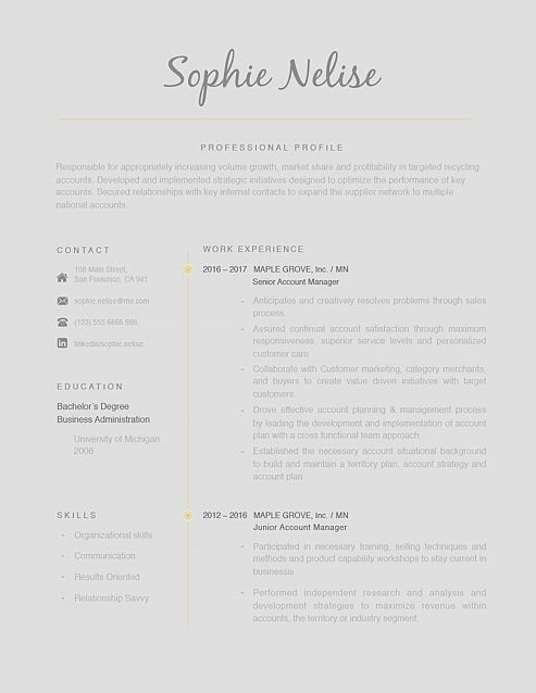 Classic resume template 120160 Choose from over 100 professionally